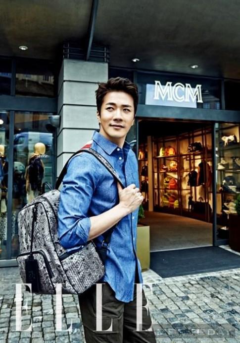 Kwon Sang Woo điển trai và lãng mạn trên ELLE