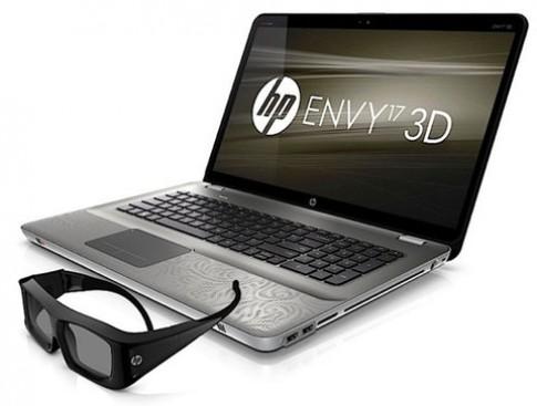 Laptop 3D cao cấp của HP giá từ 1.599 USD