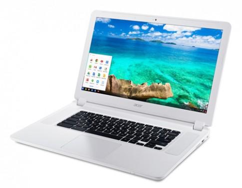 Laptop chạy Chrome đầu tiên có màn hình 15,6 inch, pin 8 tiếng