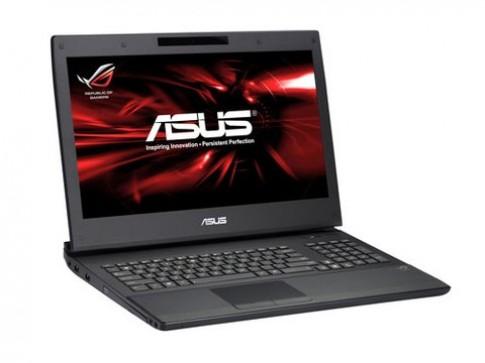 Laptop chơi game 3D màn hình 17 inch của Asus
