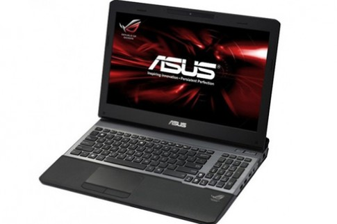 Laptop chơi game Asus G55 cho đặt hàng giá 1.475 USD