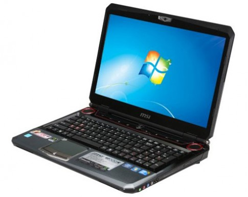 Laptop chơi game 'khủng' dùng Core i7 của MSI