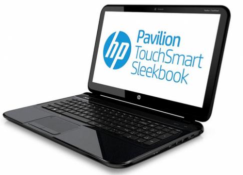 Laptop giá rẻ chạy Windows 8, màn hình cảm ứng của HP