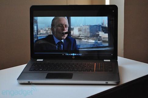 Laptop giải trí cao cấp Envy 17 của HP