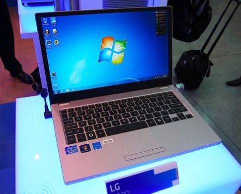 Laptop giống MacBook Pro của LG tại Computex 2011