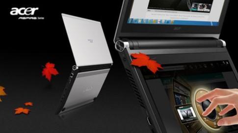 Laptop hai màn hình của Acer giá 1.200 USD