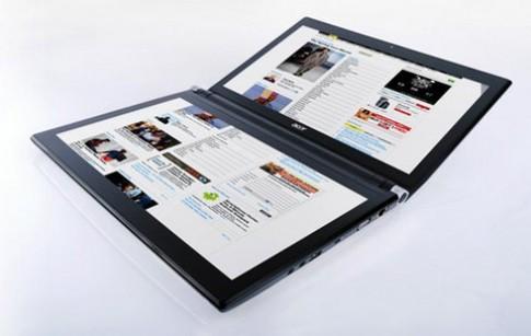 Laptop hai màn hình của Acer giá gần 2.000 USD