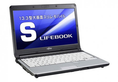 Laptop kiêm máy chiếu của Fujitsu