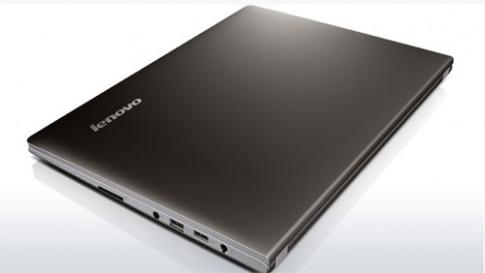 Laptop nặng 1,7 kg, màn hình cảm ứng giá rẻ của Lenovo
