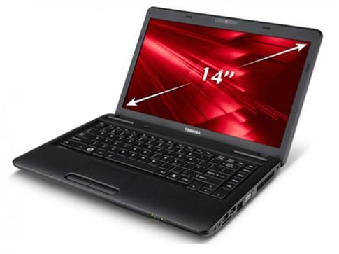Laptop ổ cứng 500 GB giá 9,7 triệu của Toshiba
