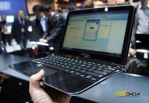 Laptop siêu mỏng của Samsung có bản 11,6 inch