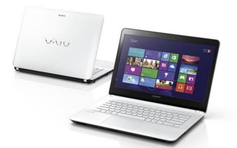Laptop Sony VAIO Fit đi theo xu hướng 'chạm'