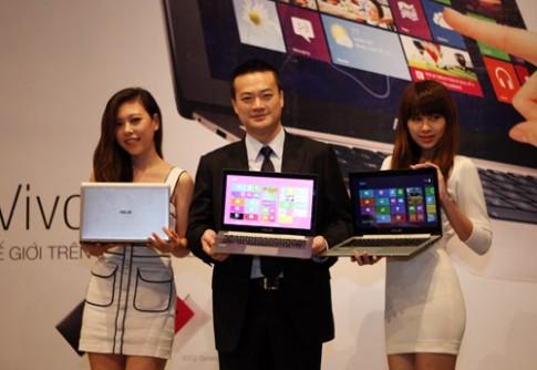 Laptop Windows 8 của Asus đổ bộ thị trường Việt