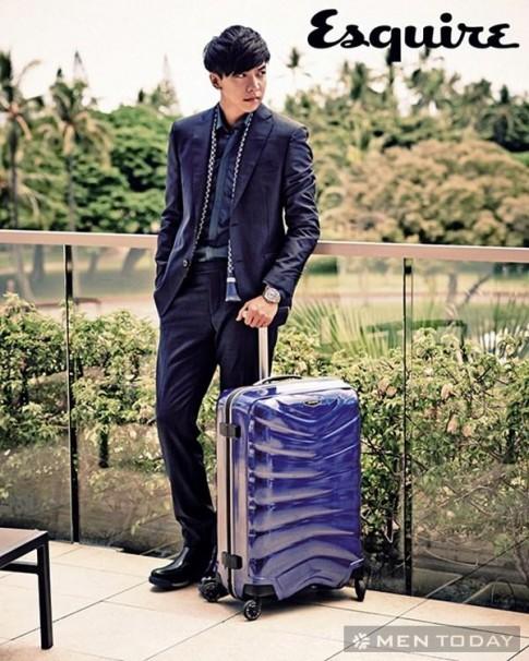Lee Seung Gi lịch lãm, sang trọng trên Esquire