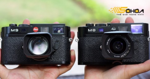 Leica M9 so dáng với 'đàn anh'