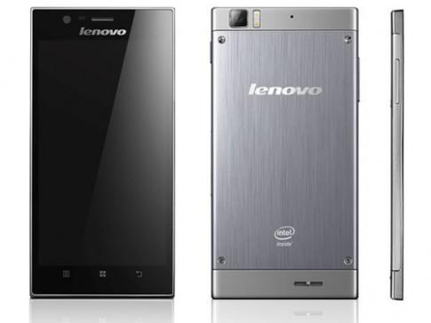 Lenovo bán smartphone siêu mỏng dùng chip Intel Atom
