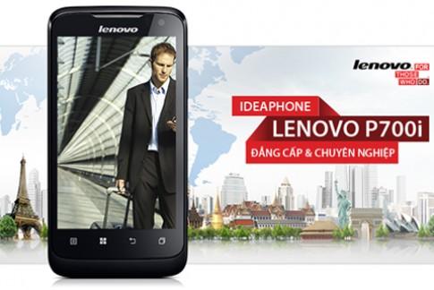 Lenovo P700i – điện thoại pin 'khủng' 2.500 mAh