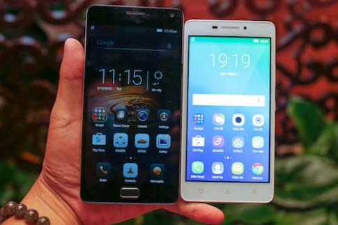 Lenovo ra bộ đôi smartphone pin khủng tại Việt Nam