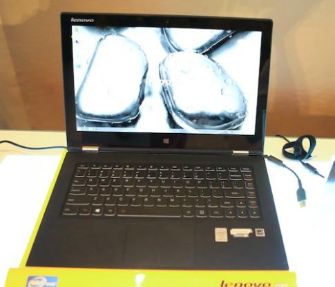 Lenovo ra mắt bộ đôi laptop và tablet Yoga tại Việt Nam