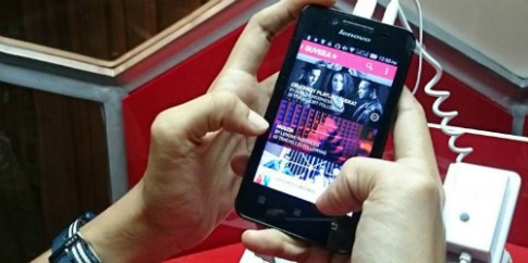 Lenovo ra mắt điện thoại nghe nhạc di động