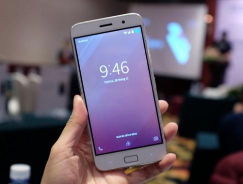 Lenovo ra smartphone pin 4.100 mAh, có cảm biến vân tay