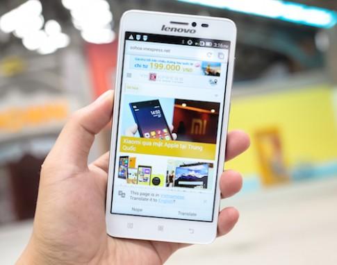 Lenovo ra smartphone tầm trung thời trang S850