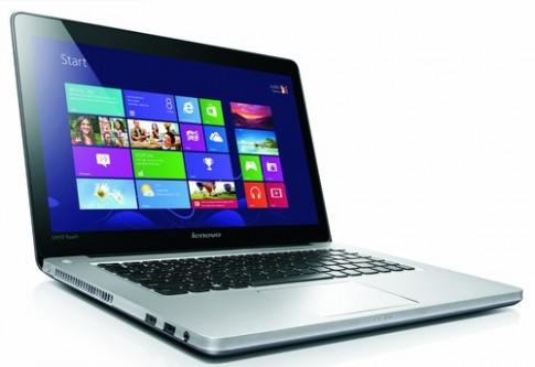 Lenovo thêm tính năng cảm ứng cho 6 máy tính xách tay
