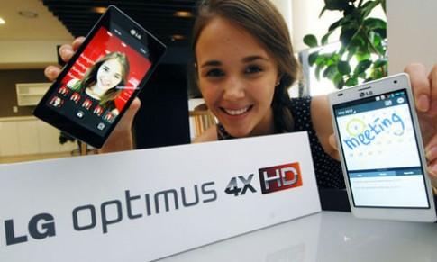 LG bán Optimus 4X HD từ tháng 6 tại châu Âu