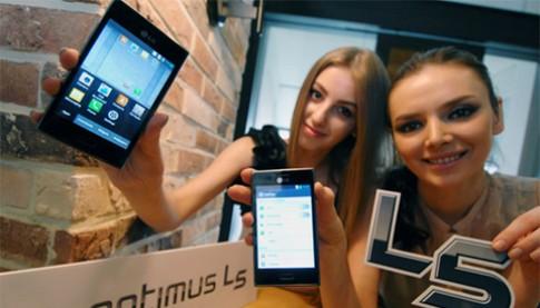 LG bán Optimus L5 từ tháng này, giá dưới 5 triệu đồng