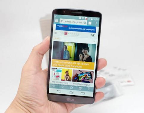 LG bắt đầu bán G3, smartphone màn hình 2K
