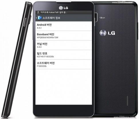 LG cập nhật Android KitKat cho Optimus G tại Hàn Quốc