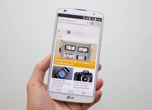 LG G Pro 2 chính hãng về Việt Nam giá 16 triệu đồng