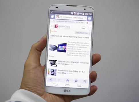 LG G Pro 2 xuất hiện tại Việt Nam, giá 15,7 triệu đồng