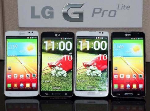 LG G Pro Lite tầm trung, màn hình 5,5 inch trình làng