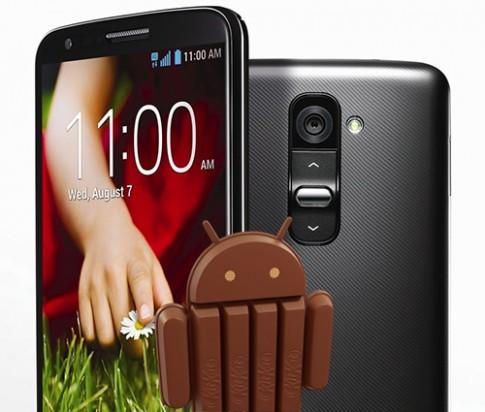 LG G2 đã được cập nhật Android 4.4 KitKat tại Hàn Quốc