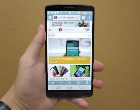 LG G3 ấn tượng với tốc độ chụp siêu nhanh
