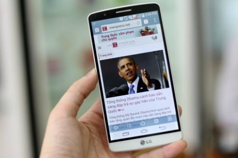 LG G3 đầu tiên về Việt Nam, giá 17 triệu đồng