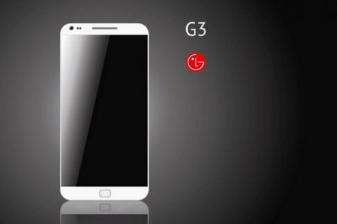 LG G3 được trang bị màn hình 2K với giao diện phẳng