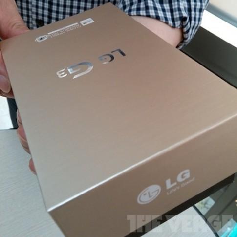 LG G3 sẽ có phiên bản màu vàng, màn hình siêu nét