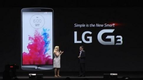 LG G3 trình làng với màn hình QHD siêu nét viền mỏng
