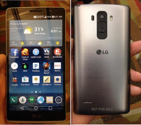 LG G4 bản thử nghiệm lộ diện
