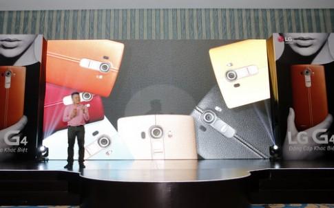 LG G4 có camera bắt sáng tốt nhất Việt Nam trình làng