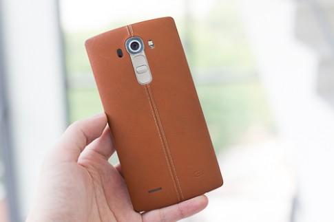 LG G4 vỏ da giảm giá sâu, xuống dưới 10 triệu đồng