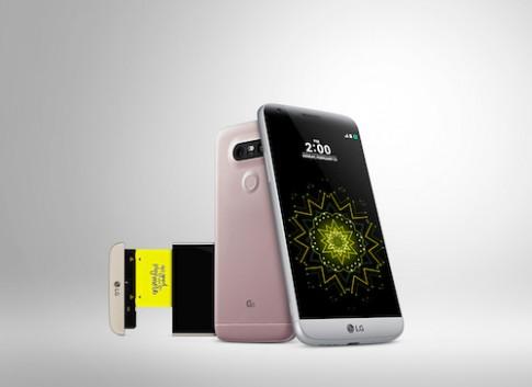 LG G5 bán tại Việt Nam cuối tháng 4 với hai phiên bản