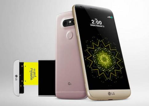 LG G5 - smartphone đầu tiên có khả năng nâng cấp phần cứng