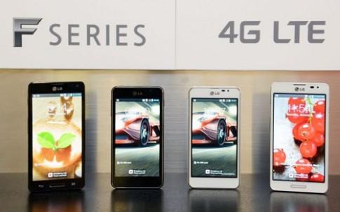 LG giới thiệu smartphone dòng F, hỗ trợ 4G LTE