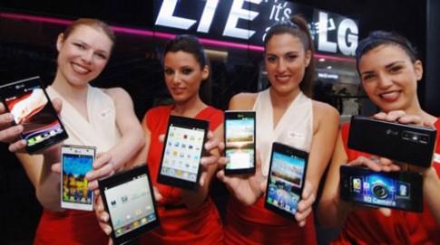 LG mờ nhạt tại MWC 2012