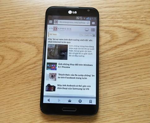 LG Optimus G Pro phiên bản quốc tế về Việt Nam