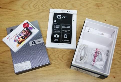 LG Optimus G Pro - smartphone FullHD đầu tiên của LG