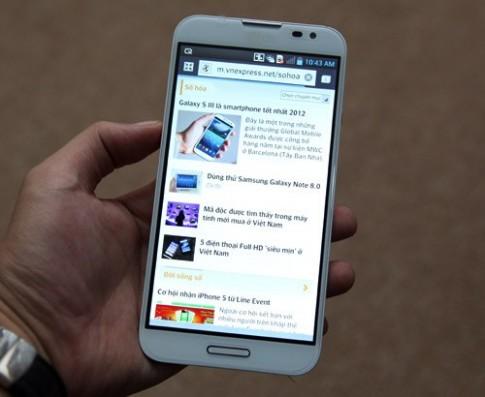 LG Optimus G Pro về Việt Nam với giá 15,6 triệu đồng